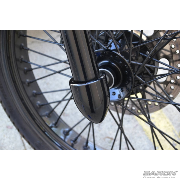 COVERS FORK/AXLE - BLACK